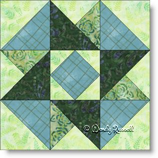 Dissapearing 9 Patch Quilt Block Tutorial |