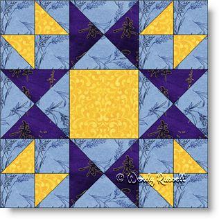 Evening Star - Free Quilt Block Pattern - Patchwork Square : evening star quilt block pattern - Adamdwight.com