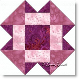 Folded Corners - Free Quilt Block Pattern - Patchwork Square : folded quilt blocks - Adamdwight.com