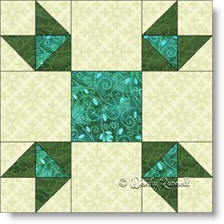 Goose Tracks - Free Quilt Block Pattern - Patchwork Square : goose tracks quilt pattern - Adamdwight.com