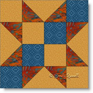 Indian Star - Free Quilt Block Pattern - Patchwork Square : indian quilt pattern - Adamdwight.com