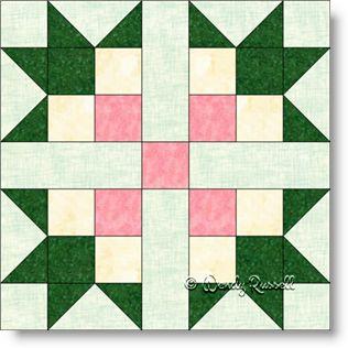 Magnolia - Free Quilt Block Pattern : magnolia quilt pattern - Adamdwight.com