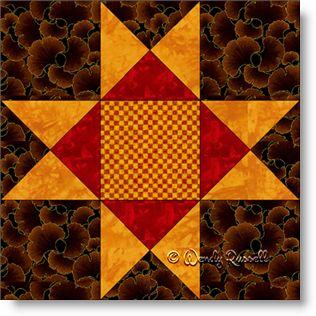 Ohio Star - Free Quilt Block Pattern - Patchwork Square : ohio star quilt pattern free - Adamdwight.com